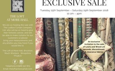 The Loft Exclusive Fabric Sale