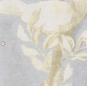 doves summer blue fabric