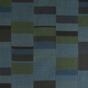 gelim stripe fabric indigo
