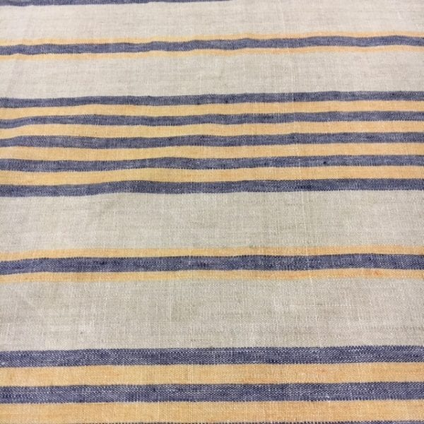 nautical striped linen